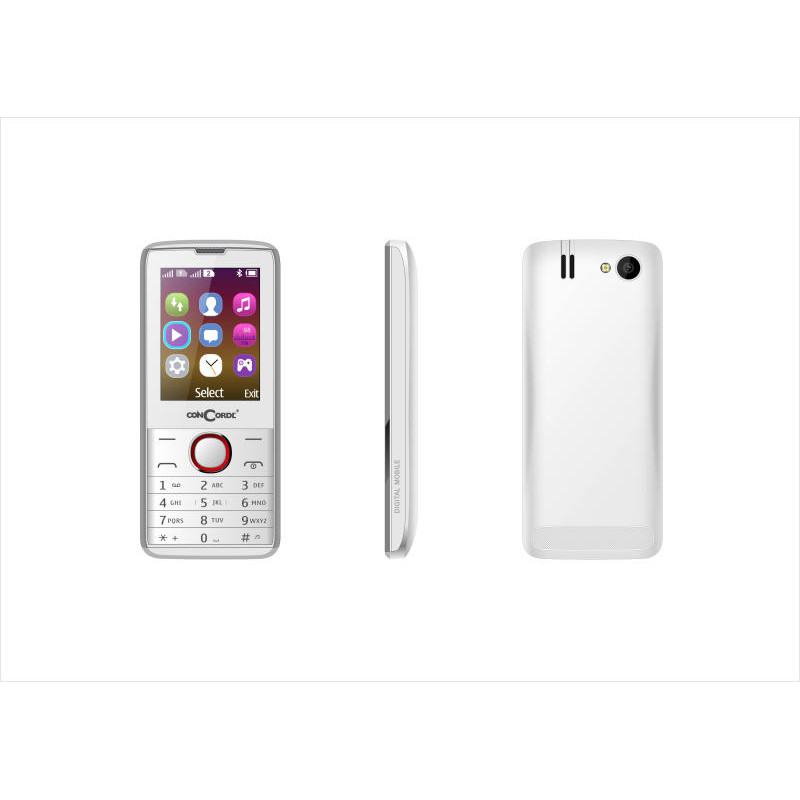 Concorde Telefon Smart Concorde Easyphone 10 (dual Sim) Independent  White