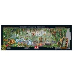 Educa Puzzle Educa Wild world, 33600 buc.