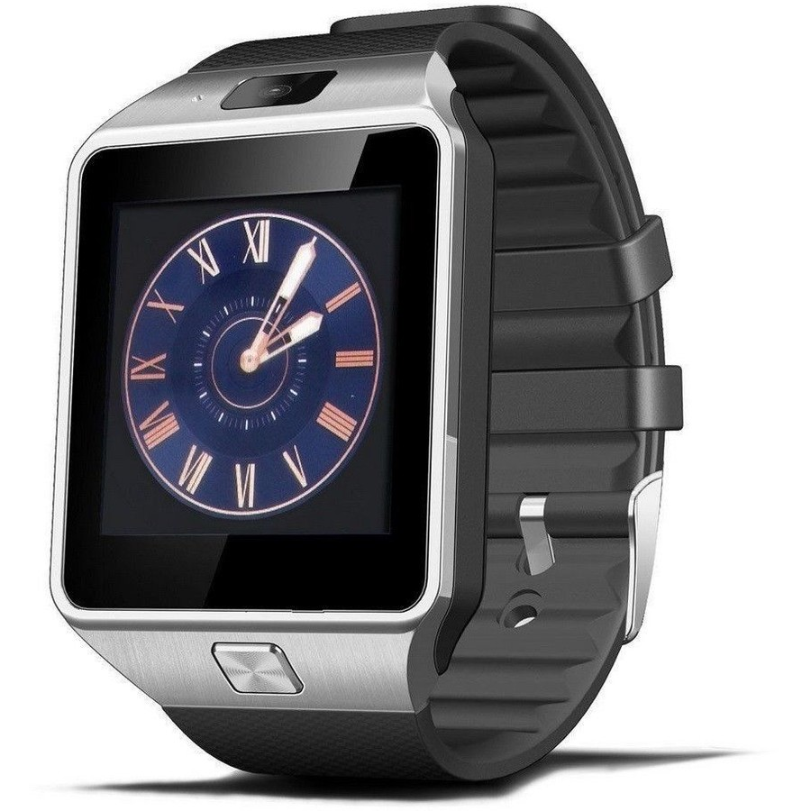 Kmax Ceas Smartwatch Kmax S1  Ceas Cu Functie Telefon  Sim Card  Microsd  Camera Foto/video  Display 1.54  Silver