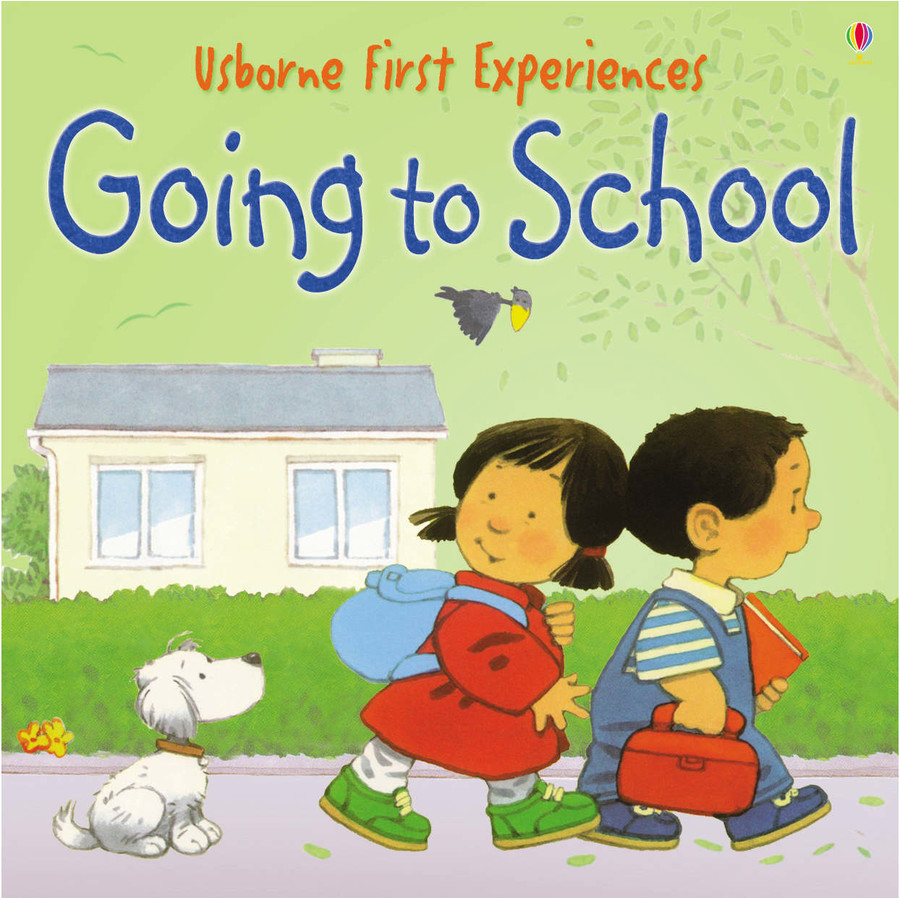 Usborne First Experiences:going To School (mini Edition) Usborne Book