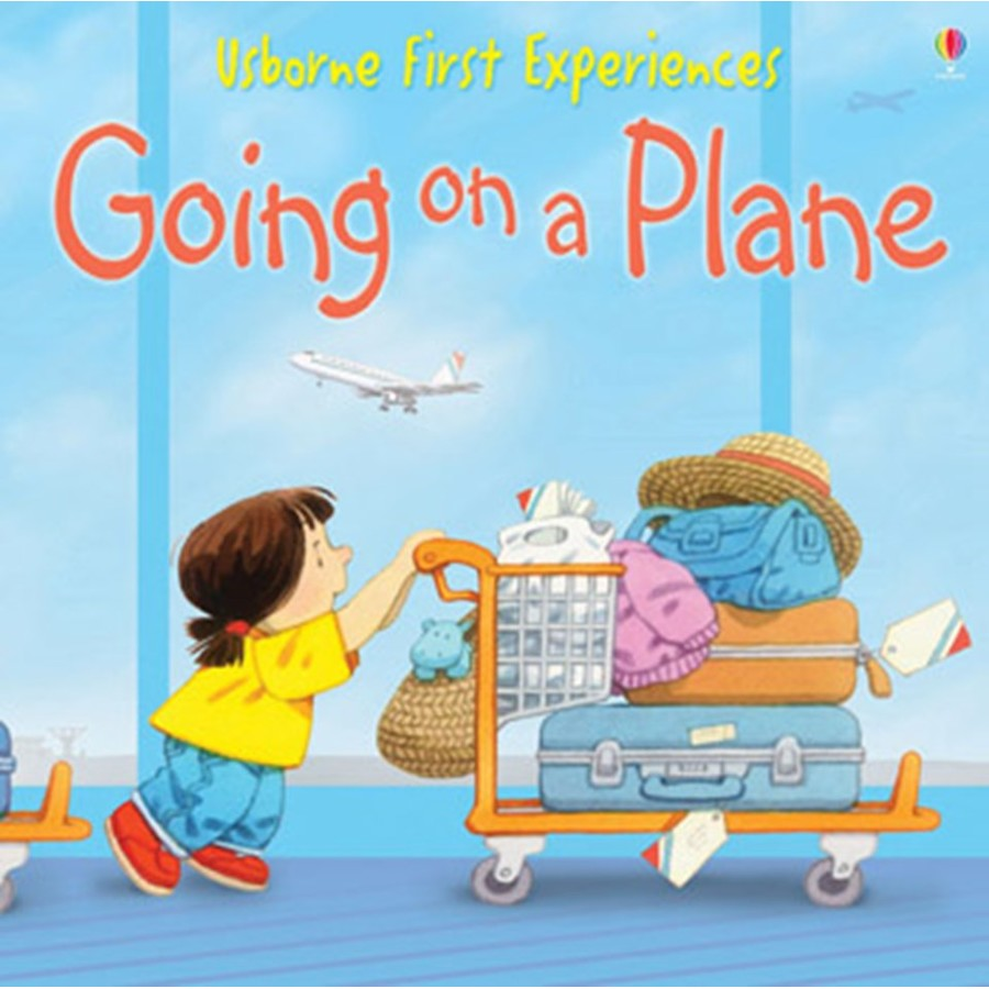 Usborne First Experiences: Going On A Plane (mini Edition) Usborne Book