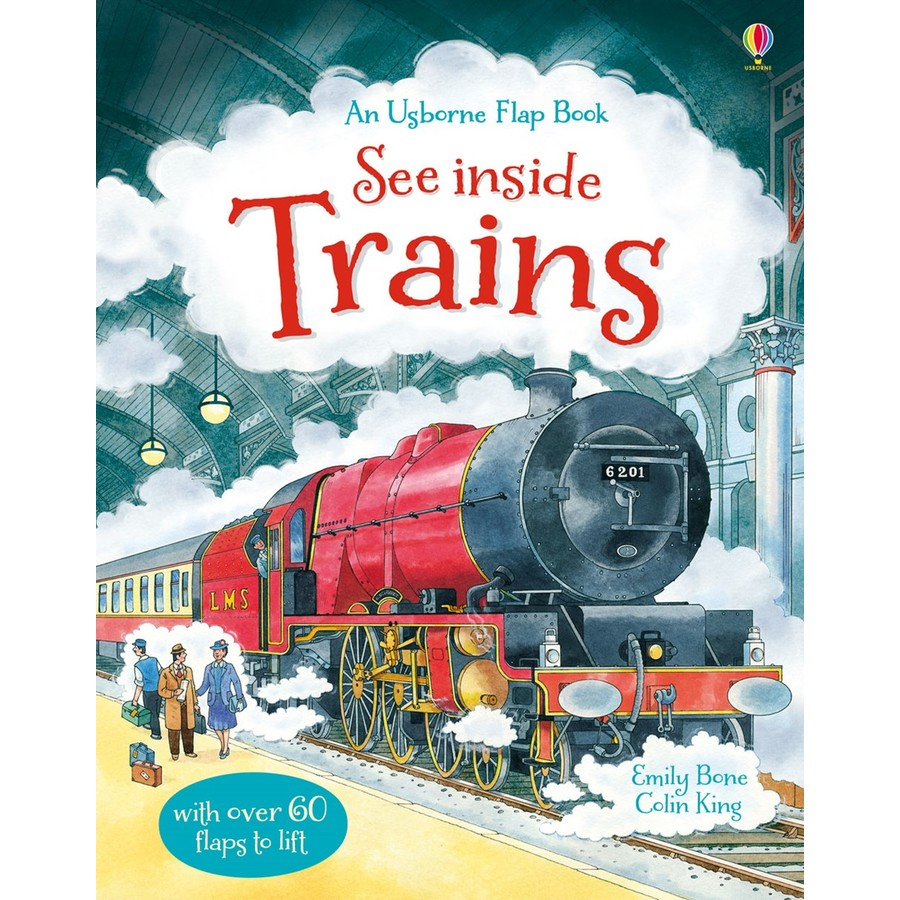 Usborne See Inside Trains Usborne Book