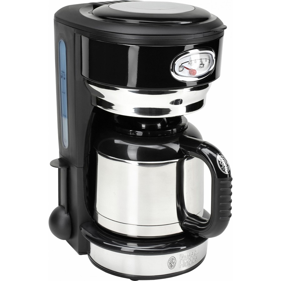 Russell hobbs Cafetiera Russell Hobbs Retro Classic Noir 21711-56  Carafa Termala