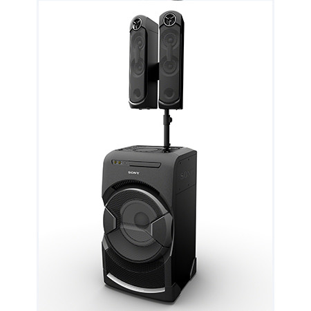 Sony Sony Power System, Bluetooth, NFC, Party Chain, Song Pal, Tuner FM