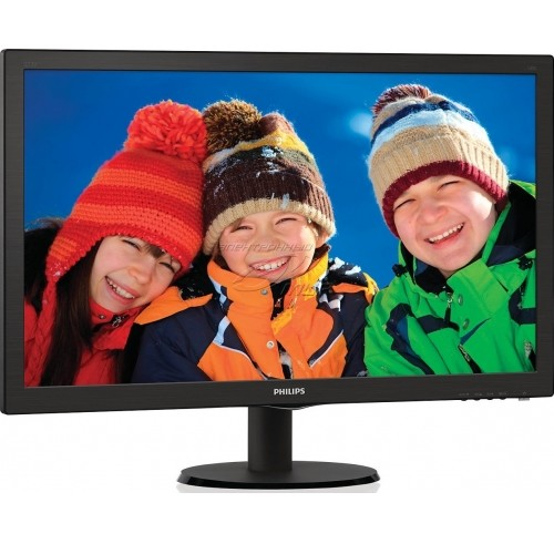 Philips Monitor 27 PHILIPS LED 273V5LHSB/00, 1920x1080, 5 ms, 200 cd/mp, 1000:1 (SC 10.000.000:1), 170/160,