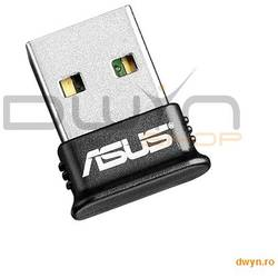 ASUS, Mini Dongle Blouetooth 4.0, USB2.0, 100M Coverage, Energy Saving, Wireless Music Play, v.A