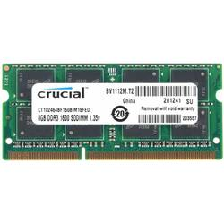 Memorie notebook Crucial 8GB DDR3 1600MHz CL11