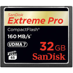 Card Sandisk Compact Flash Extreme Pro 160Mbs 32GB