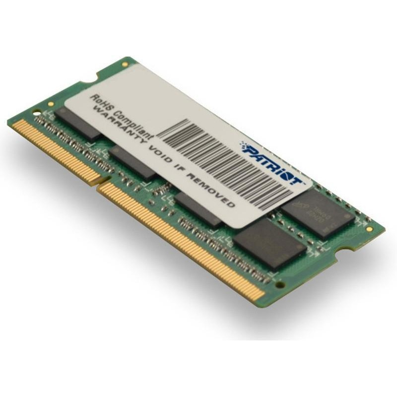 Memorii interne (RAM) laptop Patriot Patriot 4 GB 1600 MHz DDR3 Non-ECC CL11 SODIMM