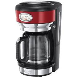 Cafetiera Russell Hobbs Retro Ribbon Red 21700-56, sticla