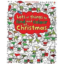Lots of things to find and colour at Christmas - Carte Usborne (4+)
