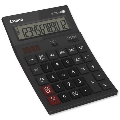 Canon CANON AS1200 CALCULATOR 12 DIGITS