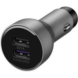 Huawei AP38 Car Charger Fast Charge with Cable Black 2452312