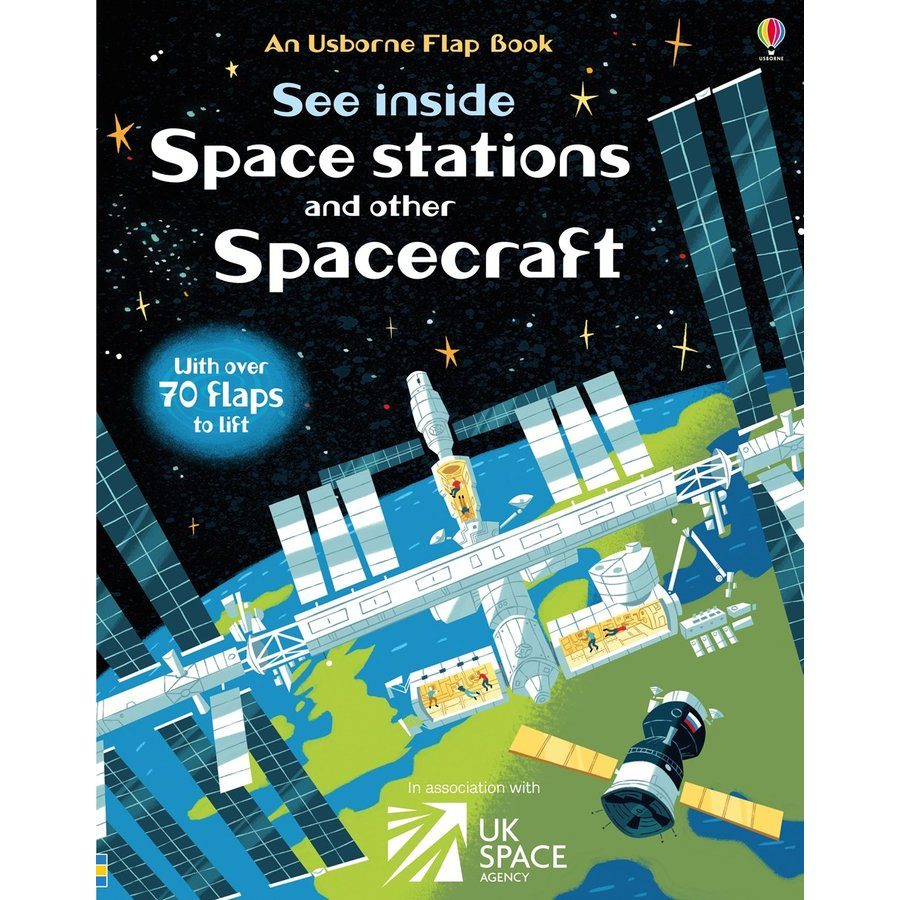 Usborne See Inside Space Stations and Other Spacecraft - Carte Usborne (6+)