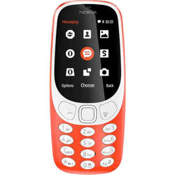 3310 DS Warm Red 2G/2.4/16MB/2MP/1200mAh