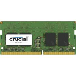 Crucial memorie, DDR4, 16GB, 2400MHz, CL17, DRx8 SODIMM, 260 pin