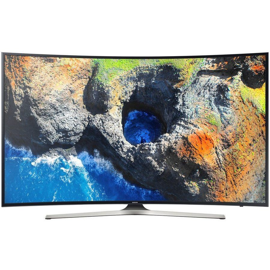 Televizor LED Curbat Smart Samsung, 163 cm, 65MU6222, 4K Ultra HD