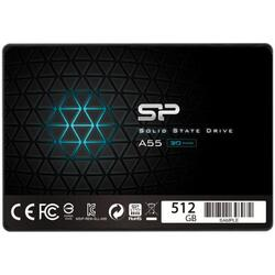 Silicon Power Ssd Ace A55 512gb 2.5'', Sata Iii 6gb/S, 560/530 Mb/S, 3d Nand