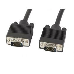 Lanberg Cable Vga M/M Shielded With Ferrite 3m Black