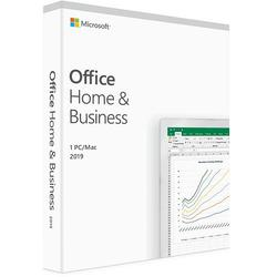 Microsoft Office Home and Business 2019 ENG, 32-bit/x64, 1 PC, Medialess - FPP