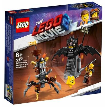 LEGO® LEGO® Movie 70836 Batman și Barbă metalică