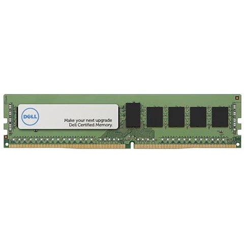 Dell Dell 16GB Certified Memory Module - DDR4 RDIMM 2666MHz 2Rx8