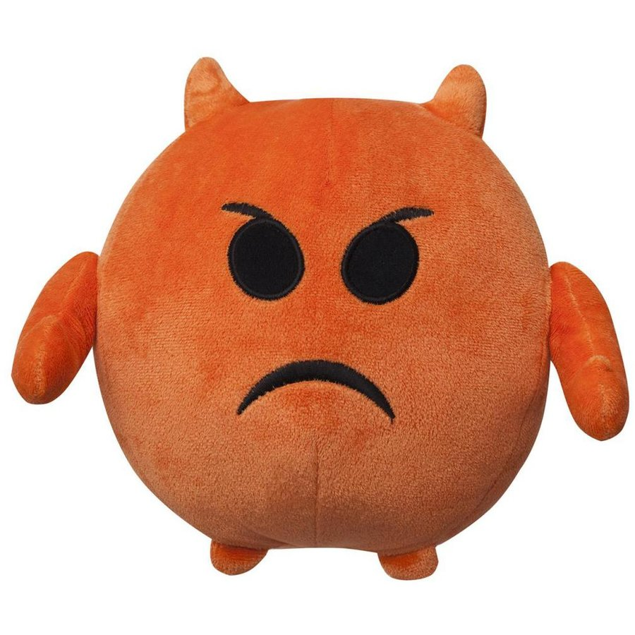 other PLUS EMOTICON (ANGRY) 18 CM