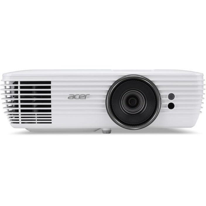 Acer Proiector ACER H7850, DLP, 4K 3840 x 2160, 3000 lumeni, 1.000.000:1, lampa 15000 ore ExtremeEco, 2 x HDMI, USB, RJ-45, VGA in/out, aidio in/out, ,stereo 2x 5w, 5.3 Kg, telecomanda, geanta transport, culoare alb.