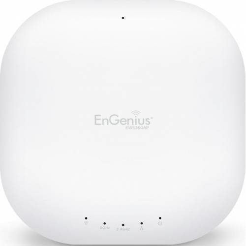 ENGENIUS AP Managed wireless Dual Band 11ac 450+1300Mbps 3T3R GbE PoE.at 6*5dBi ia, EnGenius EWS360A