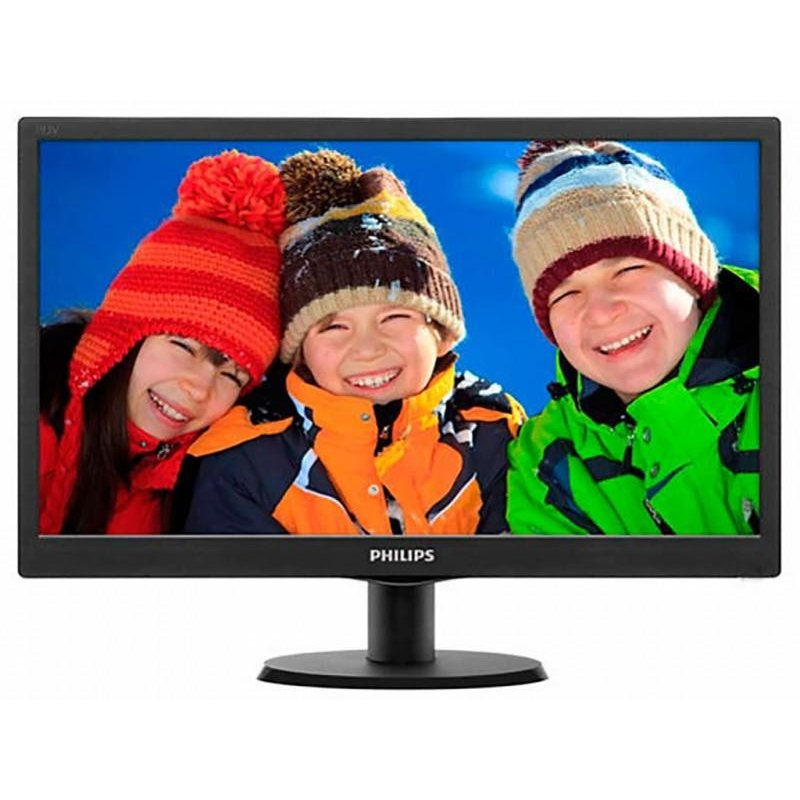 Philips MONITOR PHILIPS 19.5 LED, 1600x900, 5ms, vga, 203V5LSB26/62 (include timbru verde 3 lei)