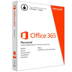 Microsoft Office 365 Personal 32-bit/x64 All Languages Subscription Online Product Key License 1 License Eurozone Downloadable Click to Run NR 1 Year