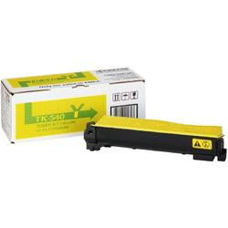 Toner Kyocera TK-540-Y   4000 pages   Yellow   FS-C5100DN