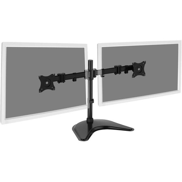 Digitus Monitor Stand, 2xLCD, max. 27'', max. load 8kg,  adjustable and rotated 360°