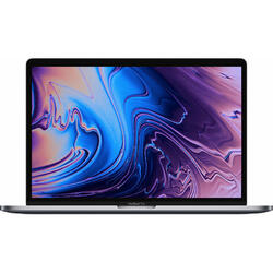 Laptop Apple 13.3 inch The New MacBook Pro 13 Retina with Touch Bar, Coffee Lake i5 2.4GHz, 8GB, 256GB SSD, Iris Plus 655, Mac OS Mojave, Silver, INT keyboard