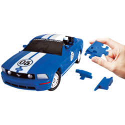 E3D Ford Mustang- 1:32 Blue - 473417