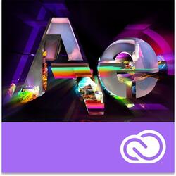 Adobe After Effects CC, Windows/Mac, subscriptie anuala