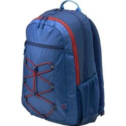 """Rucsac laptop HP Active 15.6"""", Marine Blue/Coral Red"""