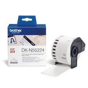 Consumabil Brother DK N55224 Continuous Paper Tape NON ADHESIVE