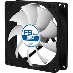 """FAN FOR CASE ARCTIC   """"F9 PWM PST"""" 92x92x25 mm, w/ PWM & cablu PST, low noise FD bearing """"AFACO-090P0-GBA01"""""""