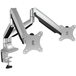 RAIDSONIC IcyBox Monitor stand with table support for two monitors up to 32'' (81 cm)