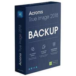 Acronis True Image Subscription 3 Computers + 250 GB Acronis Cloud Storage - 1 year subscription