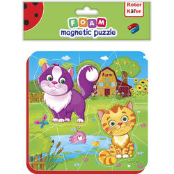 Puzzle magnetic Pisicute Roter Kafer RK5010-05