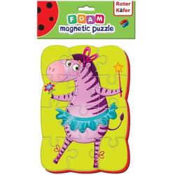 Puzzle magnetic A5 Zebra Roter Kafer RK1302-01