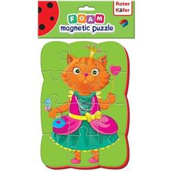 Puzzle magnetic A5 Pisica Roter Kafer RK1302-02