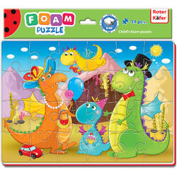 Puzzle Funny Dino 24 piese Roter Kafer RK1201-09