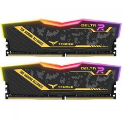 Kit Memorie TeamGroup Delta TUF ASUS RGB 16GB, DDR4-3200MHz, CL16, Dual Channel