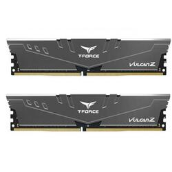 Kit Memorie TeamGroup Vulcan Z Grey, 16GB, DDR4-3000MHz, CL16, Dual Channel