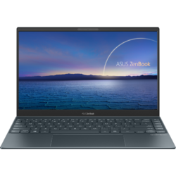 Ultrabook ASUS 13.3'' ZenBook 13 UX325EA, FHD OLED, Procesor Intel® Core™ i7-1165G7 (12M Cache, up to 4.70 GHz, with IPU), 16GB DDR4X, 512GB SSD, Intel Iris Xe, Win 10 Home, Pine Grey