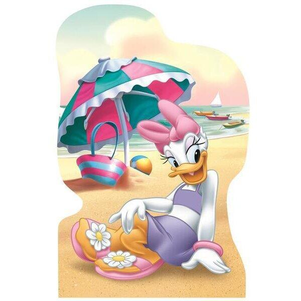Dino Puzzle 4 in 1 - Minnie si Daisy in vacanta (54 piese)