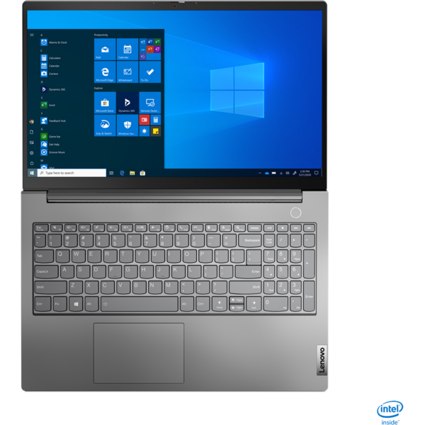 Laptop Lenovo 15.6'' ThinkBook 15 G2 ITL, FHD IPS, Procesor Intel® Core™ i5-1135G7 (8M Cache, up to 4.20 GHz), 8GB DDR4, 256GB SSD, Intel Iris Xe, No OS, Mineral Gray